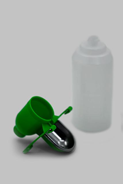 поилка чашечная с бутылкой 2л на клетку для грызущих