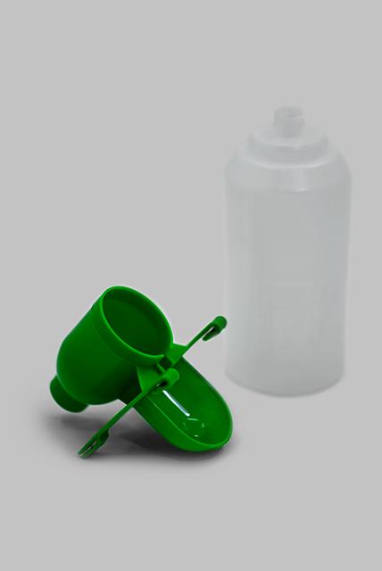 поилка чашечная с бутылкой 2л на клетку